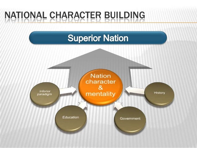 NATIONAL CHARACTER BUILDING