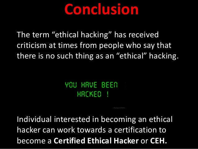 how to become an ethical hacker quora