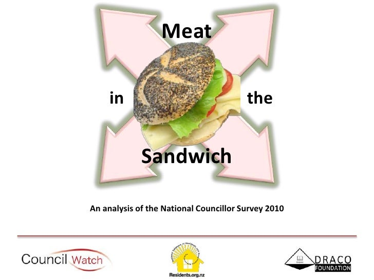 Meat<br />  in        the<br />Sandwich<br />An analysis of the National Councillor Survey 2010<br />