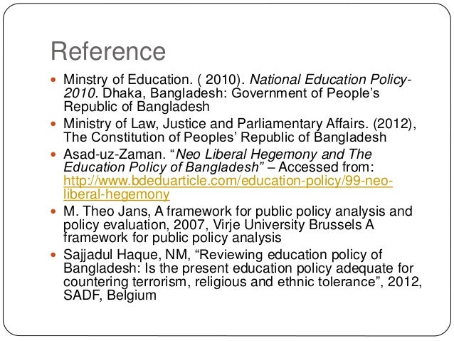 public policy in bangladesh A guide to policy development january 2003 - manitoba - office of the auditor general - 2 definitions policy in this guide, policy refers to those plans.
