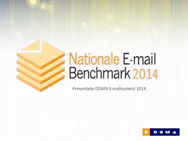 Presentatie DDMA E-mailsummit 2014