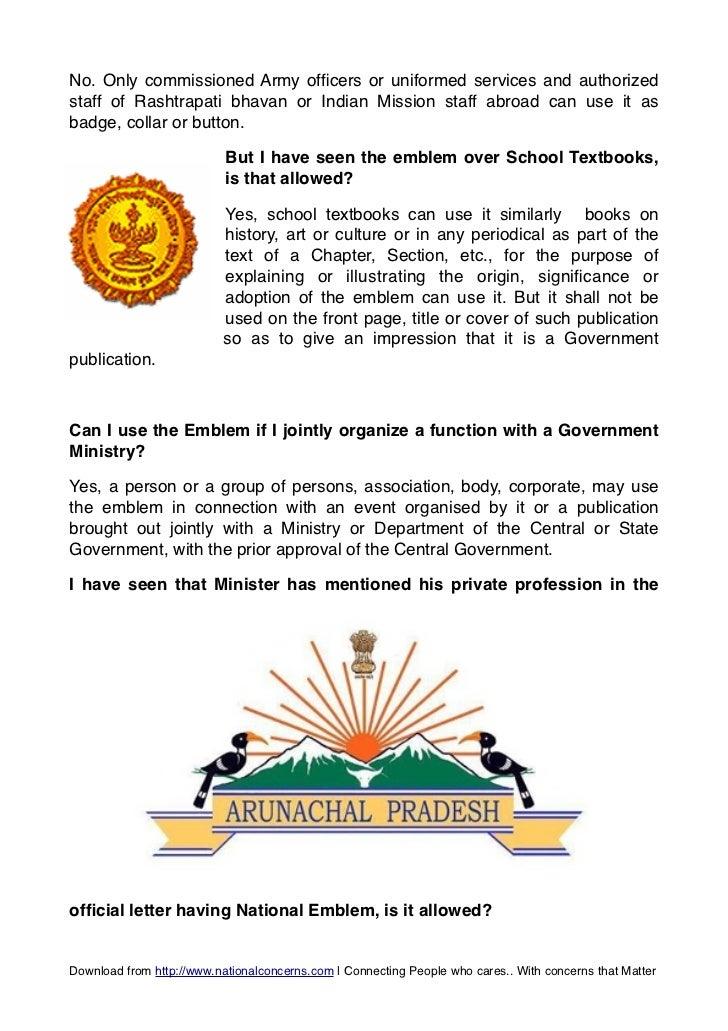 National Emblem Of India