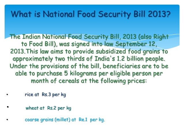 food security bill 2013 essay help