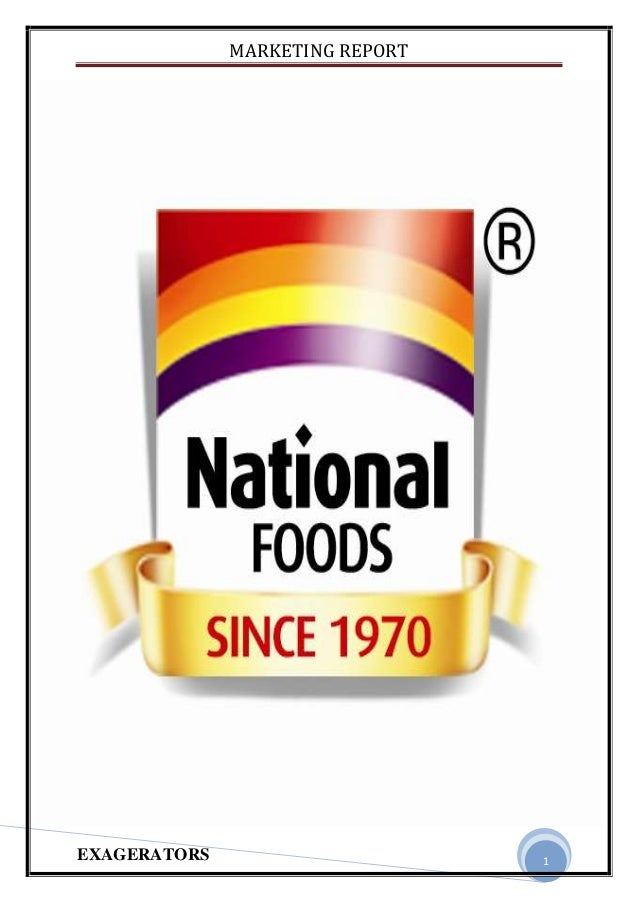 national food marketing report essay Join now over 85,000 essays join now signup with facebook enter your email and choose a password (6-12 chars) to the left then click the join now button.