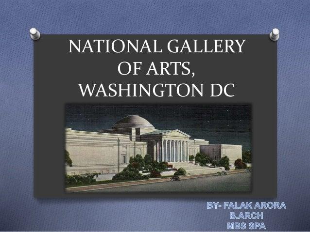 NATIONAL GALLERY OF ARTS, WASHINGTON DC