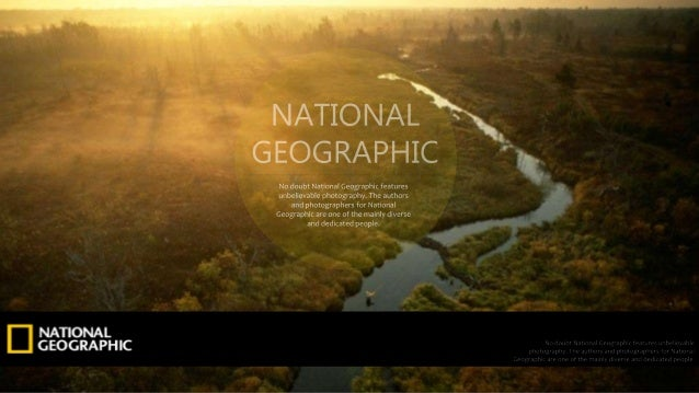 PPT template with big picture (Nationalgeographic)
