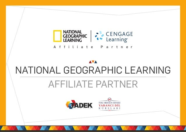 NATIONAL GEOGRAPHIC LEARNING AFFILIATE PARTNER