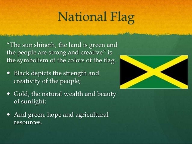 National Symbols And Heroes Of Jamaica