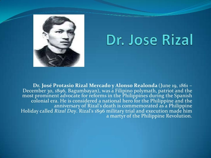 significance of rizal s execution Thus, it officially had started with an epistle of love, prior to jose rizal's departed for europe on may 3, 1882 jose rizal statue (photo courtesy: ome santos @akosiome_pf on instagram) dapitan asylum.