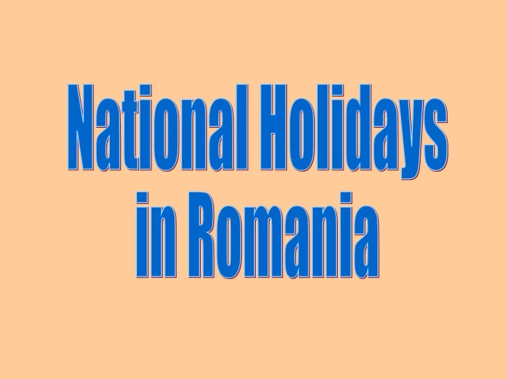 National Holidays in Romania