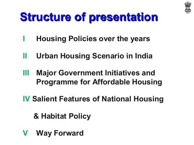 National housing & habitat policy priyank Slide 2