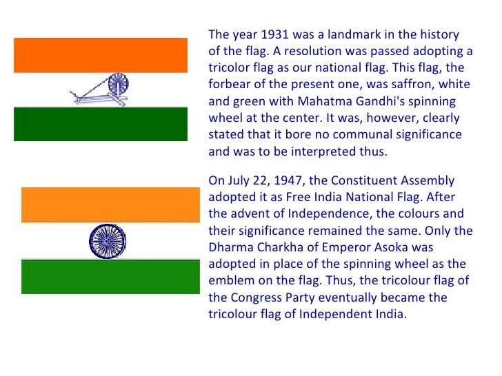 The Tricolor: What The Colours In India's National Flag Signify