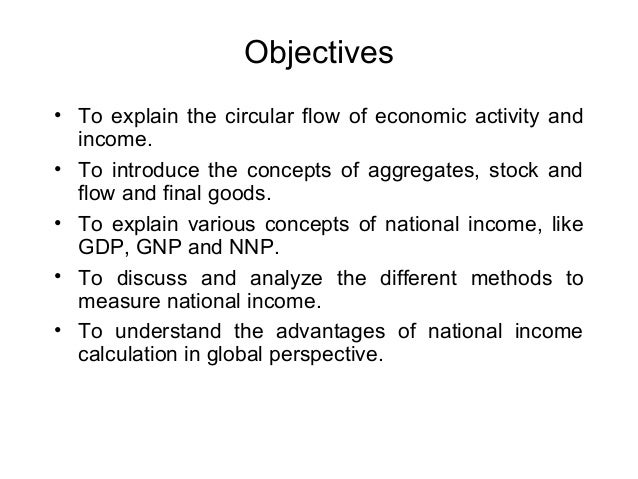 what are the various methods of measuring national income