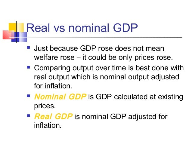 Limitations of gdp comparing living standards