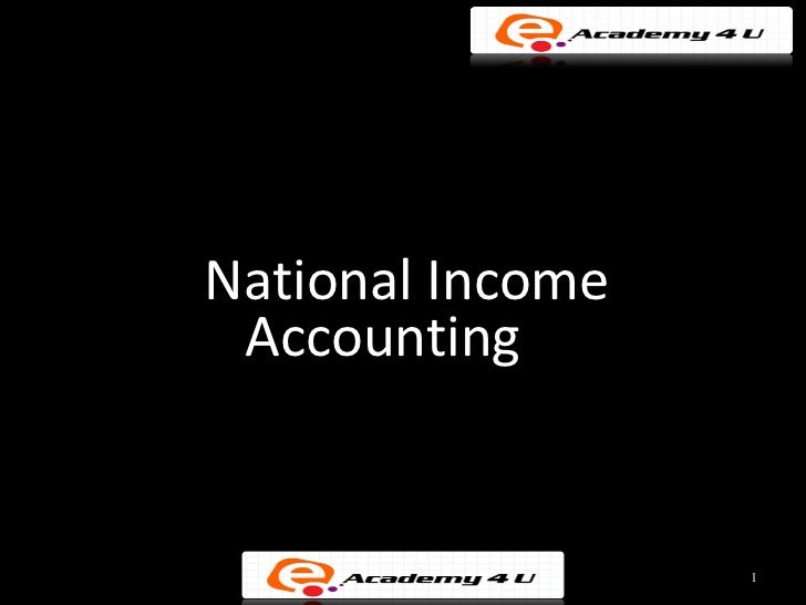 national income account in ethiopia National income and product accounts historical development the economic accounting structure the production account production by sector and industry.