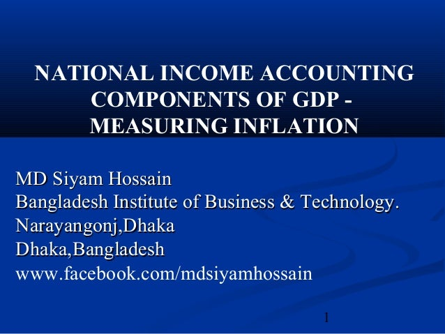 uses of national income accounting Gross domestic product (gdp) is the most important aggregate of national income for accounting purposes, and for economic analysis in the uk, gdp is derived from the gross value added (gva) of all the uk's individual producers, industries or sectors over one year, using the 'output' method.