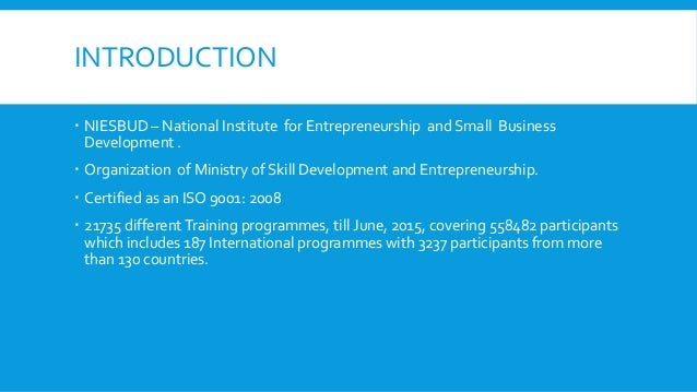 entrepreneurship and small business development Fundamentals of entrepreneurship entrepreneurship, development of the internet before you engage in creating a small business, every entrepreneur thinks the.