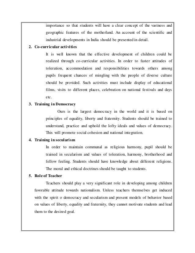 very short essay national integration essays of thoreau very short essay national integration