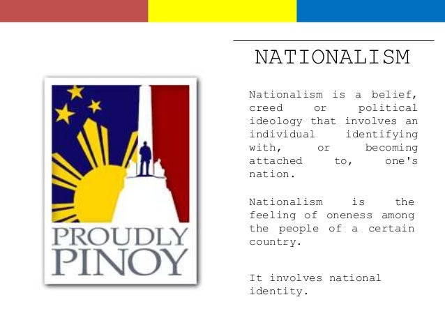 development of nationalism and patriotism in the philippines