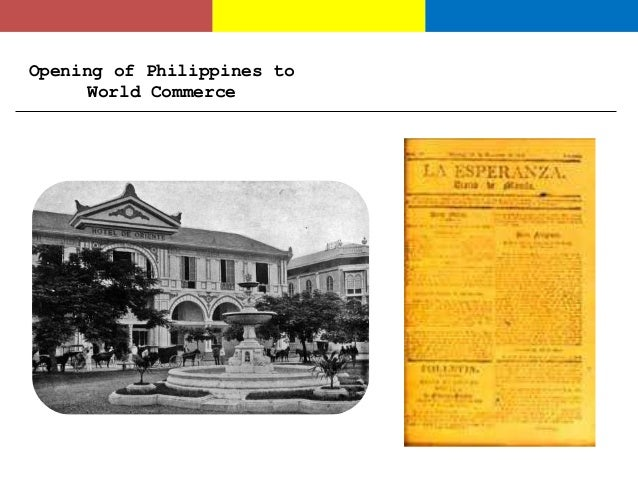 nationalism of the filipino Factors that paved way to the birth of nationalism opening of the philippines to world commerce secularization movement liberal administration of dela torre.