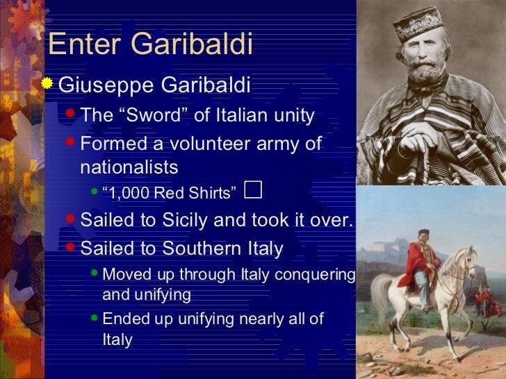 Enter Garibaldi ...