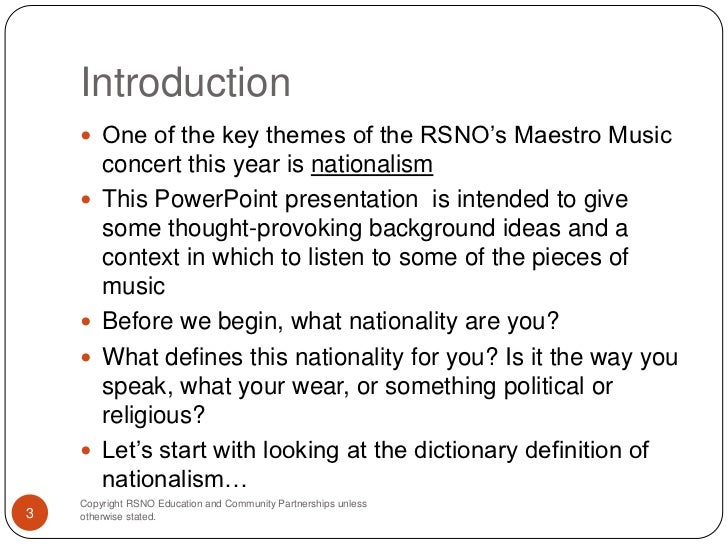 Introduction: Nationalism and Religious Identification
