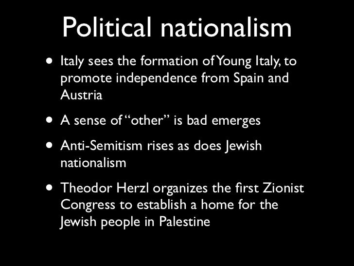 a better understanding of the origins and history of nationalism in italy The fascist experience in italy fascism—italy—history 2 possess a better understanding of the nature of italian fascism and its long-term.