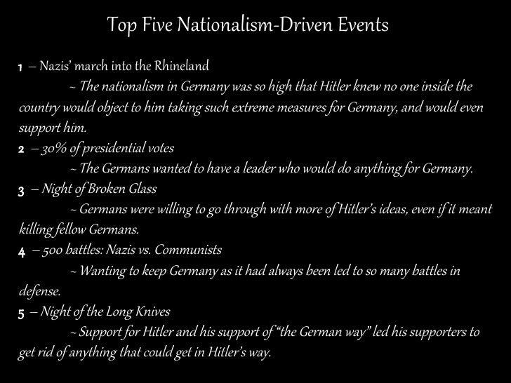 Nationalism Ww2 Nationalism as ...