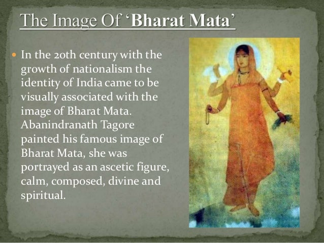 Who Painted Famous Image Of Bharat Mata