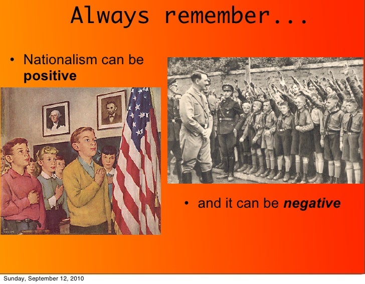Good and Bad Nationalism