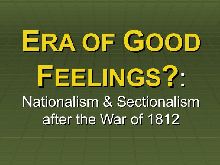 nationalism vs sectionalism essay Home free essays sectionalism in the united states  we will write a custom essay sample on sectionalism in the united states  nationalism and sectionalism.