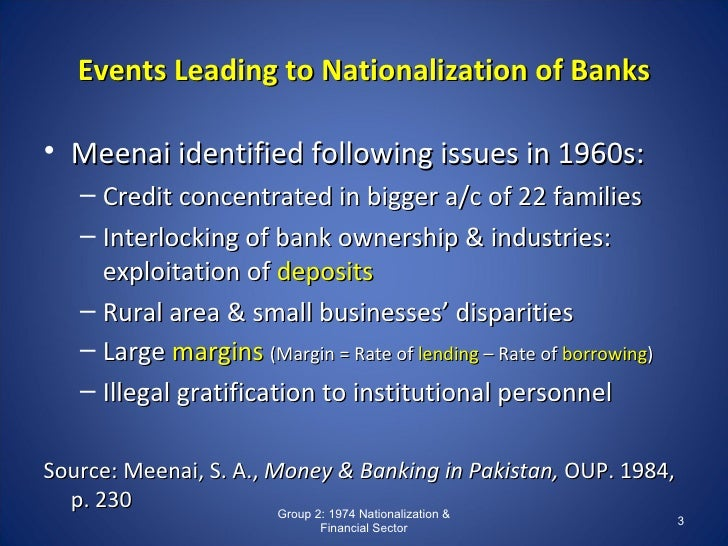 nationalization of industries in pakistan and Visit wwwbohatalacom and study complete project on nationalization of banks or project on privatization of banks in pakistan.