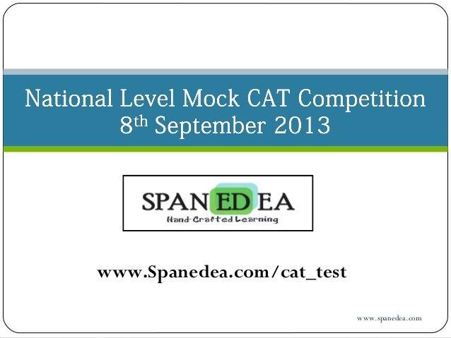 www.Spanedea.com/cat_test www.spanedea.com