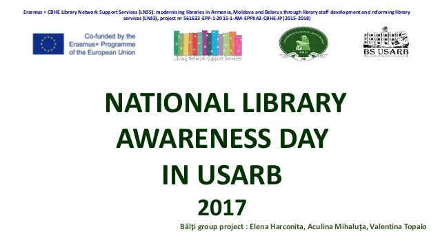 Erasmus + CBHE Library Network Support Services (LNSS): modernising libraries in Armenia, Moldova and Belarus through libr...