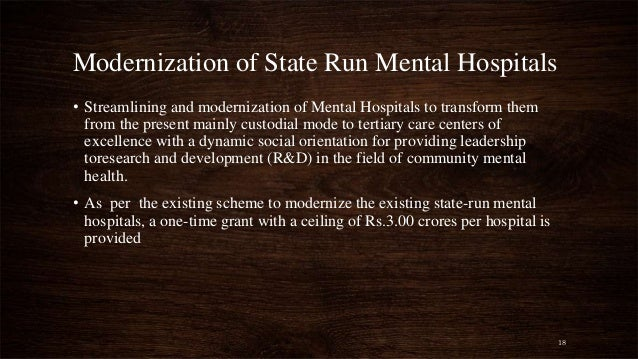 mental health institutions