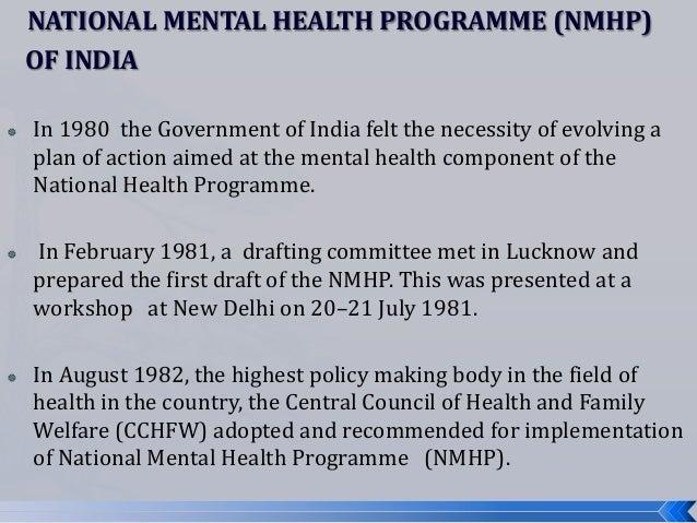 mental health programmes