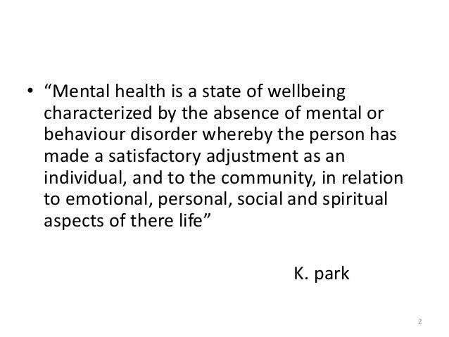National mental health programme (nmhp) Slide 2