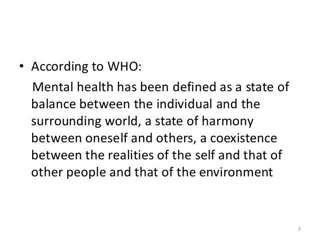 National mental health programme (nmhp) Slide 3