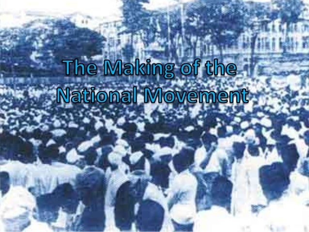 When India was being ruled by the British, it was the Indian National Movement that expressed the aspirations and demands ...