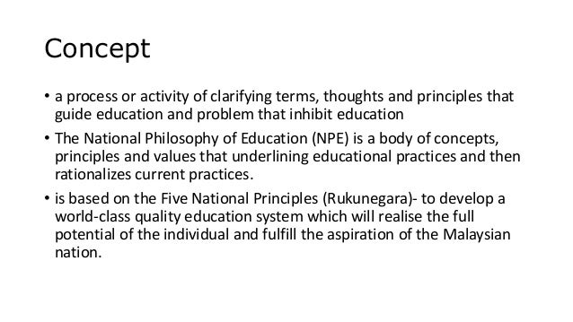 current philosophy of education