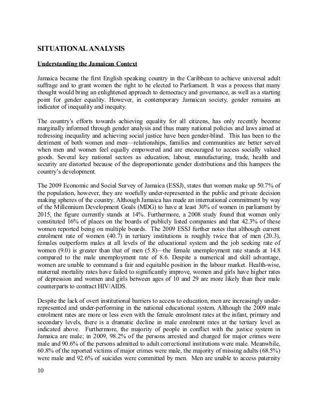 Essay Of Science   Thesis For An Analysis Essay also What Is A Thesis For An Essay National Policy For Gender Equality Modest Proposal Essay