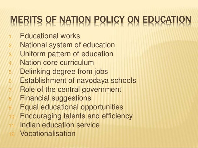 national educational system essay Identify the chief factors that determined irish educational policy in the period 1832-1970 religion in 1831 the national school system was set up under.