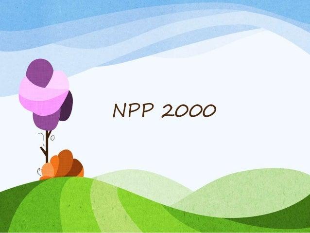 NPP 2000