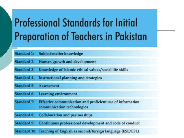 professional standards for teachers Njac 6a:9c, professional development table of contents subchapter 1 the professional standards for teachers and the professional standards for school.