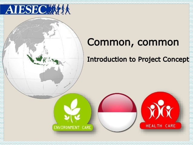 Common, common Introduction to Project Concept