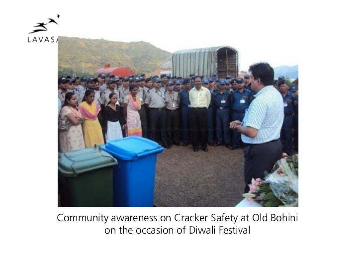 Community awareness on Cracker Safety at Old Bohini        on the occasion of Diwali Festival