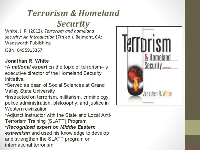 Research paper on terrorism