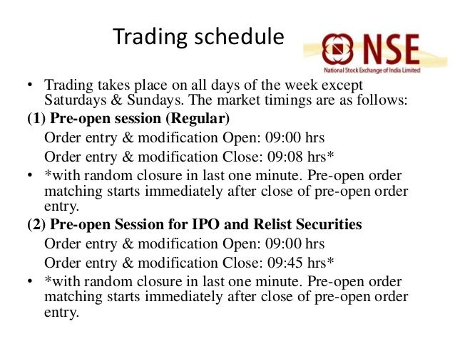 trading mechanism in national stock exchange essay The national stock exchange is india's largest financial market and ranks fourth in the world by equity trading volume.