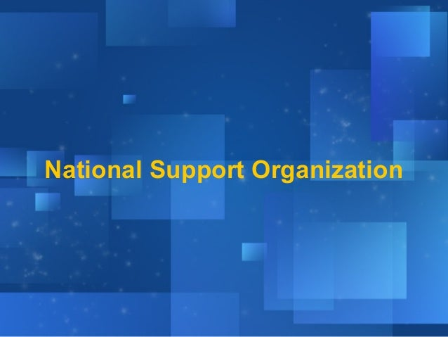 National Support Organization