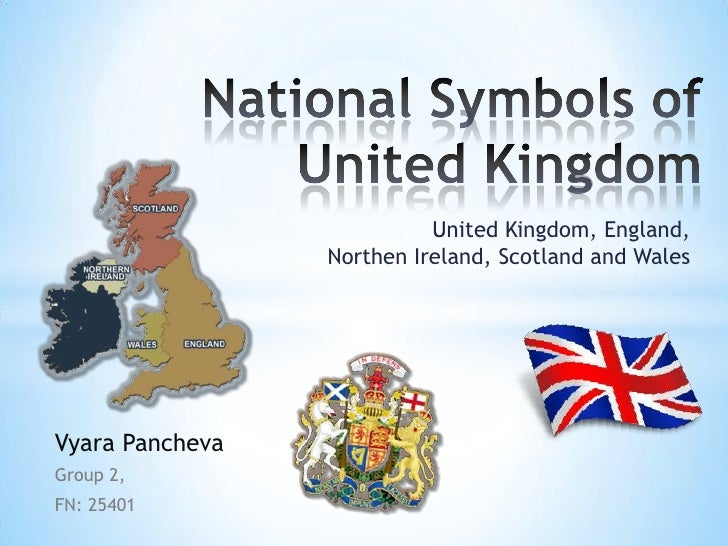 Write about national symbols of the uk